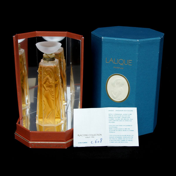 Lalique Four Muses Perfume Flacon Collection 1994 Edition
